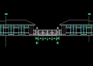 入口大门设计方案