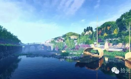 水上桃园-品五味 · 狮子庙水街景观设计