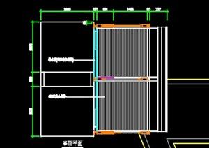 通风口亭子设计CAD方案