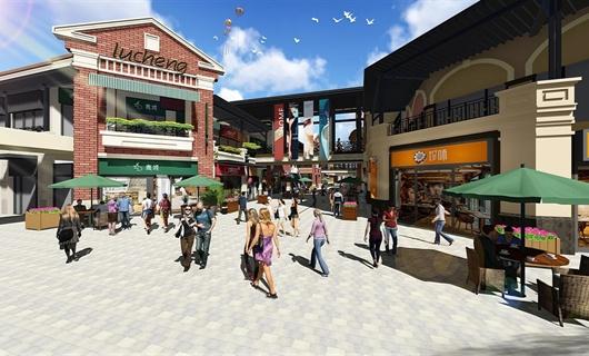 合肥瑶海万达商业街景观设计