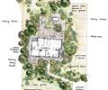 別墅花園,花園,花園景觀,別墅庭院