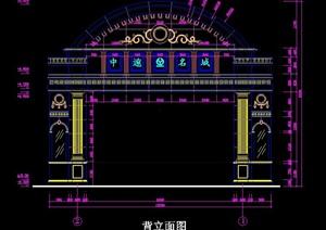 欧式大门设计施工图