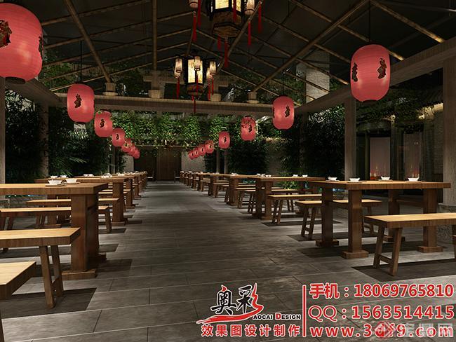 10宁波吴总餐厅新竹叶涮肉效果图2