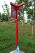 公園景觀,指示標志,標志牌