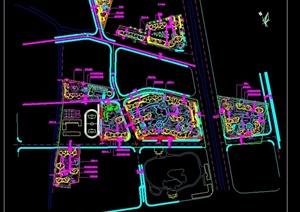 某旧城改造详细规划设计cad总图