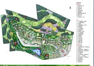 西班牙风格住宅小镇景观设计方案(53页)