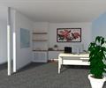 办公空间,办公室,办公室装饰,桌椅,盆栽