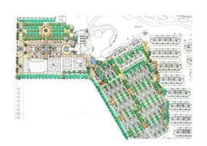 欧式风格荷兰小镇景观规划设计JPG方案含CAD图纸和PSD文件