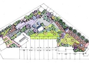 澳门金都酒店现代风格屋顶花园景观规划设计CAD方案图含SU(草图大师)模型和JPG图片