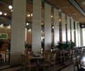 酒店,酒店空间,餐桌椅,酒店隔断墙,隔断墙