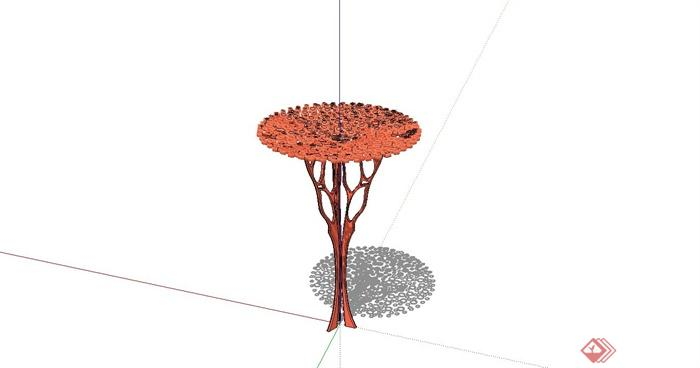 现代风格创意雕塑小品设计SU模型(2)