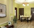 住宅空间,餐厅,餐桌椅,吊灯