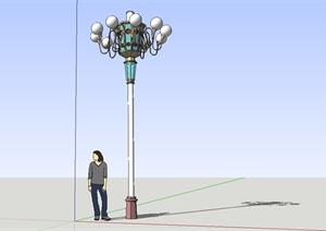 欧式精致路灯设计SU(草图大师)模型