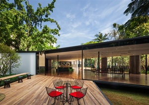 某现代风格巴西圣保罗住宅jpg实景图