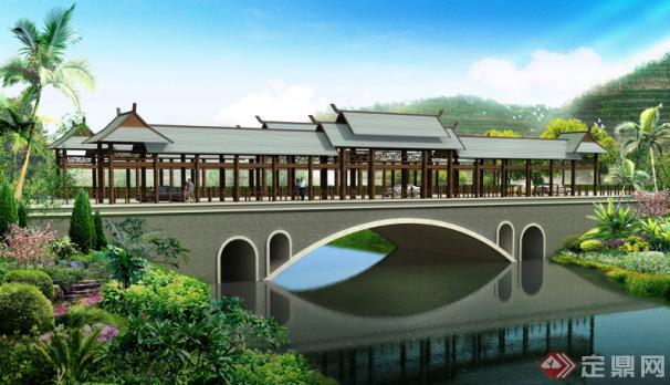 3#桥效果图