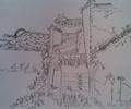 農村住宅,農村自建房,農村住房,手繪作品