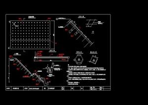 挡墙与护坡设计CAD施工图