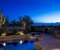 夜景,夜景照明,水景,水景水池