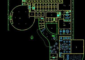 某酒店平面方案设计