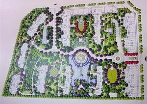 风景园林手绘素材合集JPG图片