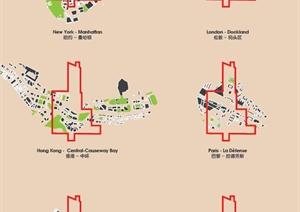 深圳湾超级城市摩天楼群建筑设计PDF方案