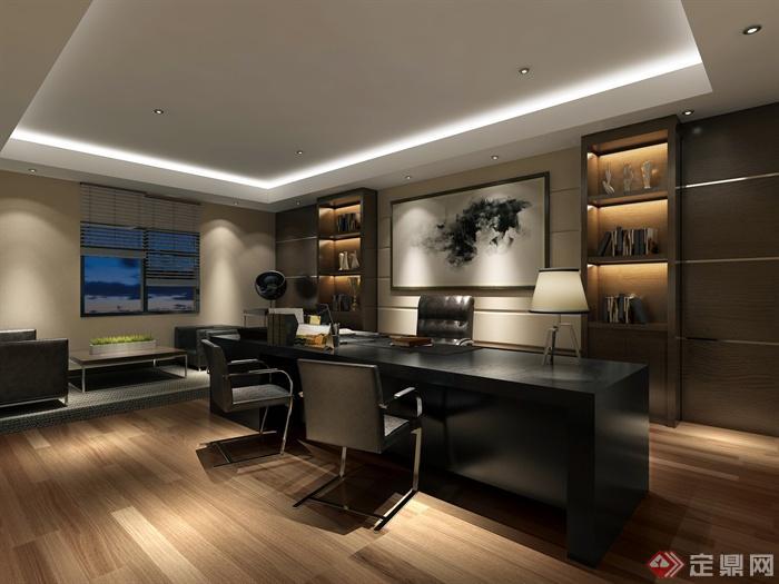 董事長室,辦公室,辦公室內裝飾