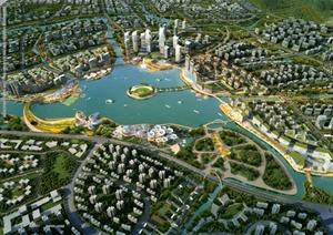 某现代风格知识城核心区城市设计整套方案高清pdf文本