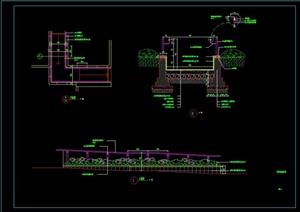 无障碍坡道设计CAD施工图