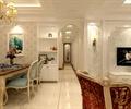 客餐厅,餐厅,餐桌椅,吊灯