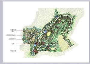 某欧式风格别墅区景观规划设计PPT方案