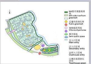 某欧式风格别墅住宅区规划设计PPT方案