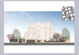 某欧式风格别墅规划设计PPT方案