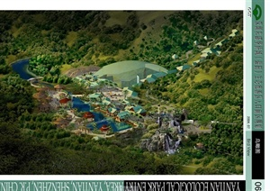 某东南亚风格生态旅游区景观规划设计JPG方案