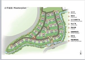 某法式风格别墅区景观规划设计PPT方案