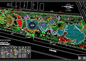 某休闲公园规划平面图
