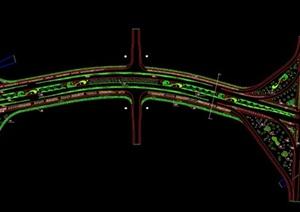 城市道路规划平面
