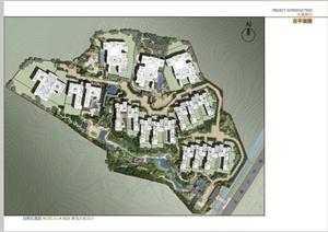 某现代中式风格山地度假别墅区景观规划设计PDF方案