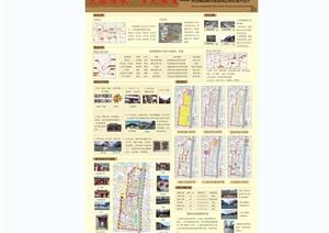 某古典中式风格城市景观规划设计JPG方案排版