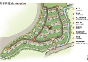 欧式风格别墅项目景观设计ppt方案文本