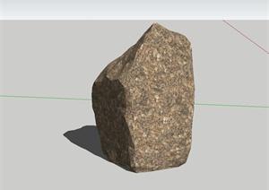 108款不同的石头设计SU(草图大师)模型