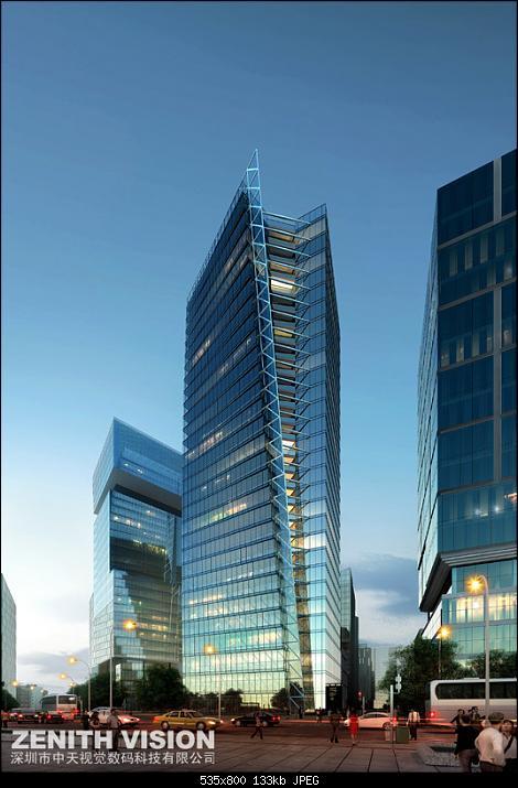 办公建筑,高层办公建筑,高层办公楼,高层办公大楼