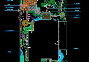 别墅庭院景观设计方案