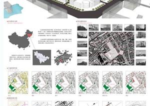 毕业设计——某城市城市设计概念方案