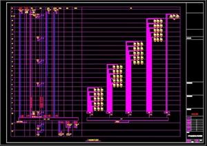 高层框架结构住宅楼(B2-F25)全套电气施工图
