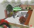 庭院景观,庭院花园,庭院规划,庭院