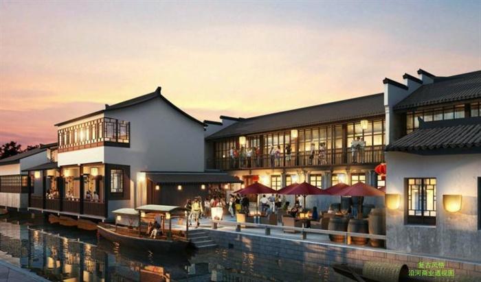 嘉善高铁新城核心区商业规划建筑概念设计方案高清文本(5)