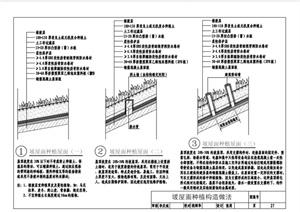 某现代海绵城市建设技术低影响开发单项设施及雨水利用系统标准pdf图集