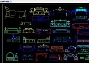 装饰素材设计合集CAD方案