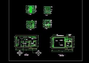 现代风格酒店标准客房设计cad施工详图