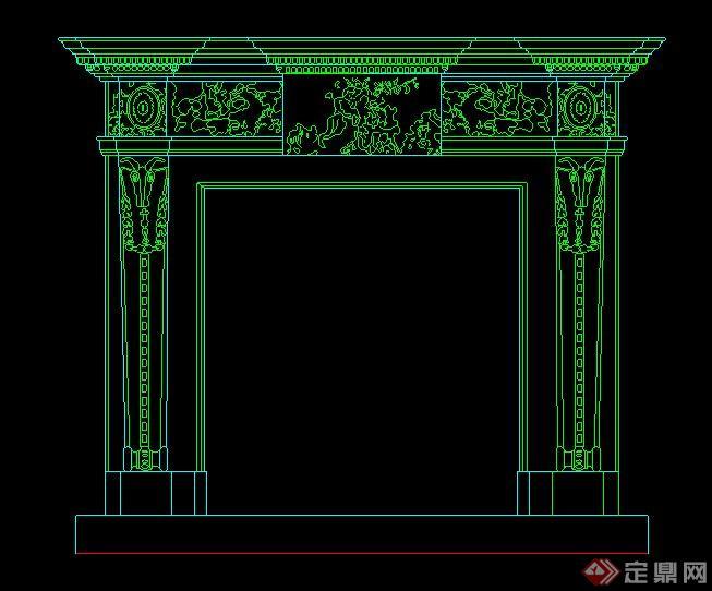 18種壁爐設計方案圖(2)